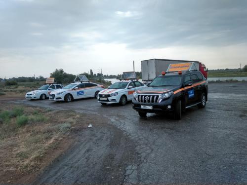 Фото Машины прикрытия/Сопровождение негабаритных грузов ул. Речная 50